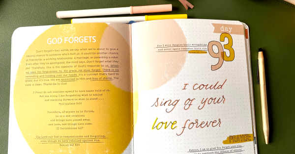 Sing of His love forever. Sing through the pain.